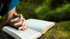 Rezar com a Bíblia